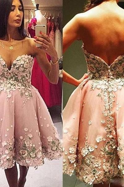 Homecoming Dresses, Short Homecoming Dresses 2018, Sweetheart Homecoming Dresses, Applique Homecoming Dresses, Sexy Homecoming Dresses, Short Prom Dresses, Short Party Dresses, Prom Dresses, Cocktail Dress
