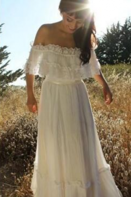Wedding Dresses, Wedding Dresses 2018, Off Shoulder Wedding Dresses, Applique Wedding Dresses, Customize Elegant Wedding Dresses, Lace Wedding Dresses, Bridal Dresses, Bridal Gowns